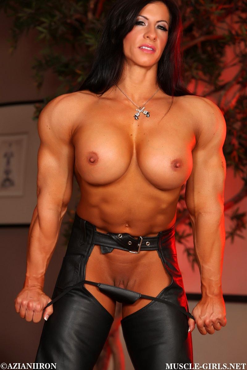 Naked female bodybuilder angela salvagno 10