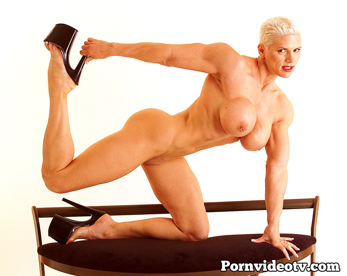 Tall muscular women domination tube