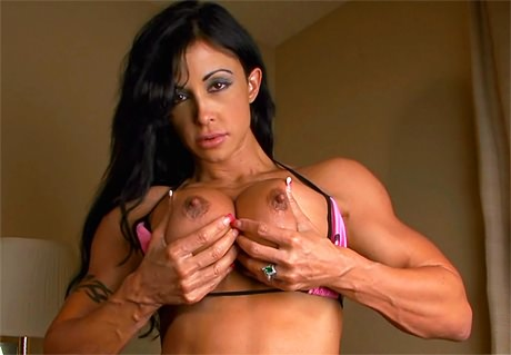 Beautiful Fitness babe Jewels Jade big tits and muscle from wonderful katie morgan
