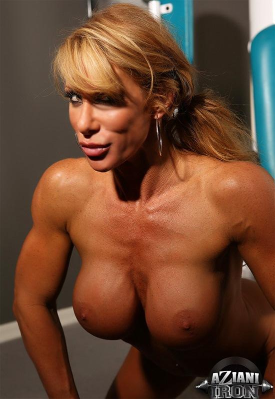 busty muscle milf nude